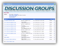 LISTSERV Discussion Groups